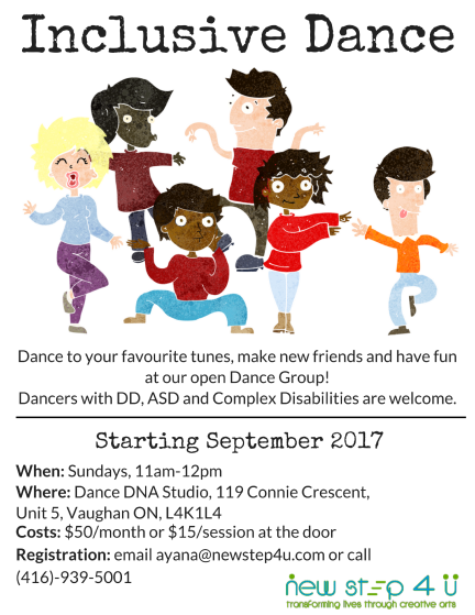 Inclusive Dance Flyer