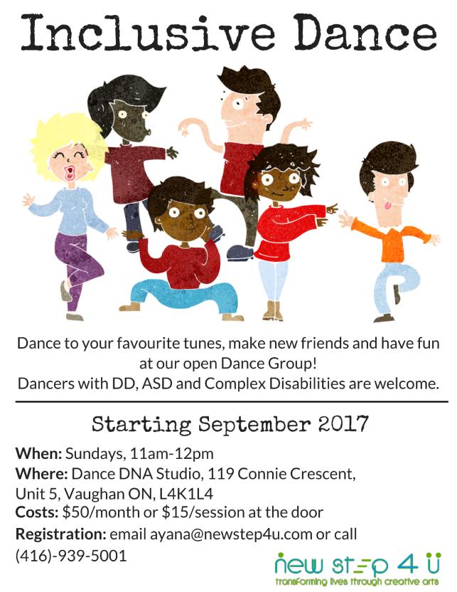 Inclusive Dance Flyer